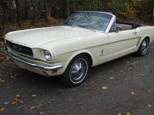 1965 Mustang Conv.