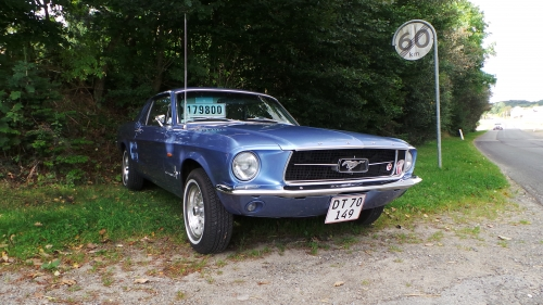 1967 Mustang Coupe H/T