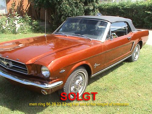 1965 Mustang Cabriolet