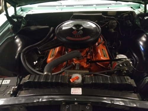 Chevrolet impala cov.